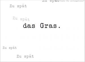 """aus """"texte für zeitungsleser"""""""