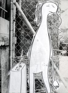 """""""pandora"""", collage, 1984/2015"""