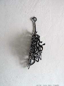 """Corrida"", Tusche, Papier, 2015"